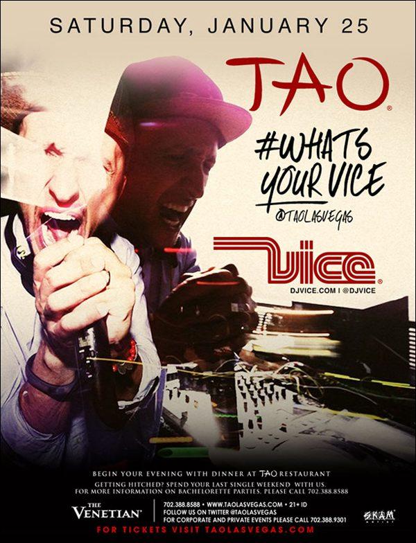 DJ Vice at TAO