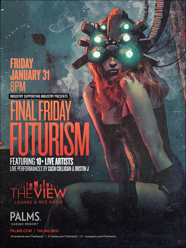 Final Friday Futurism at The View Las Vegas