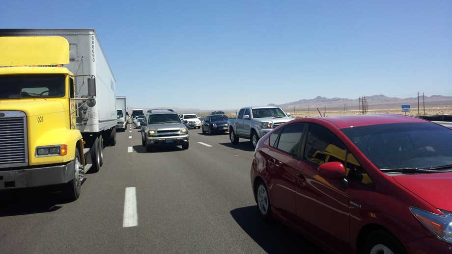 10 Reasons - LA to Las Vegas Traffic