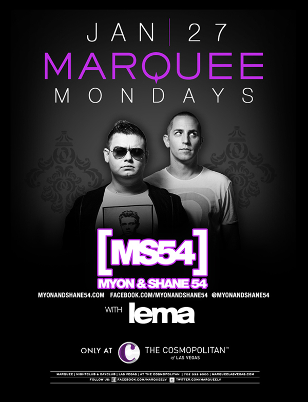 Marquee Mondays with MS54 at Marquee