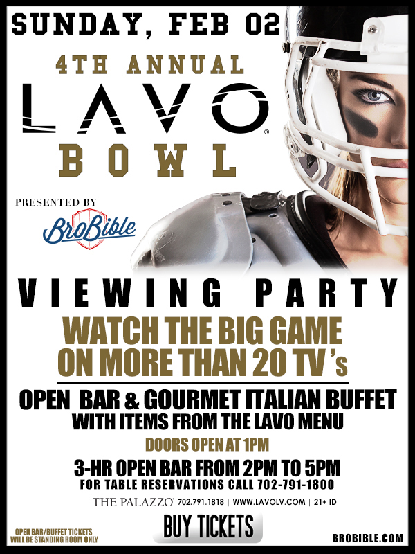 The Big Game at LAVO Nightclub
