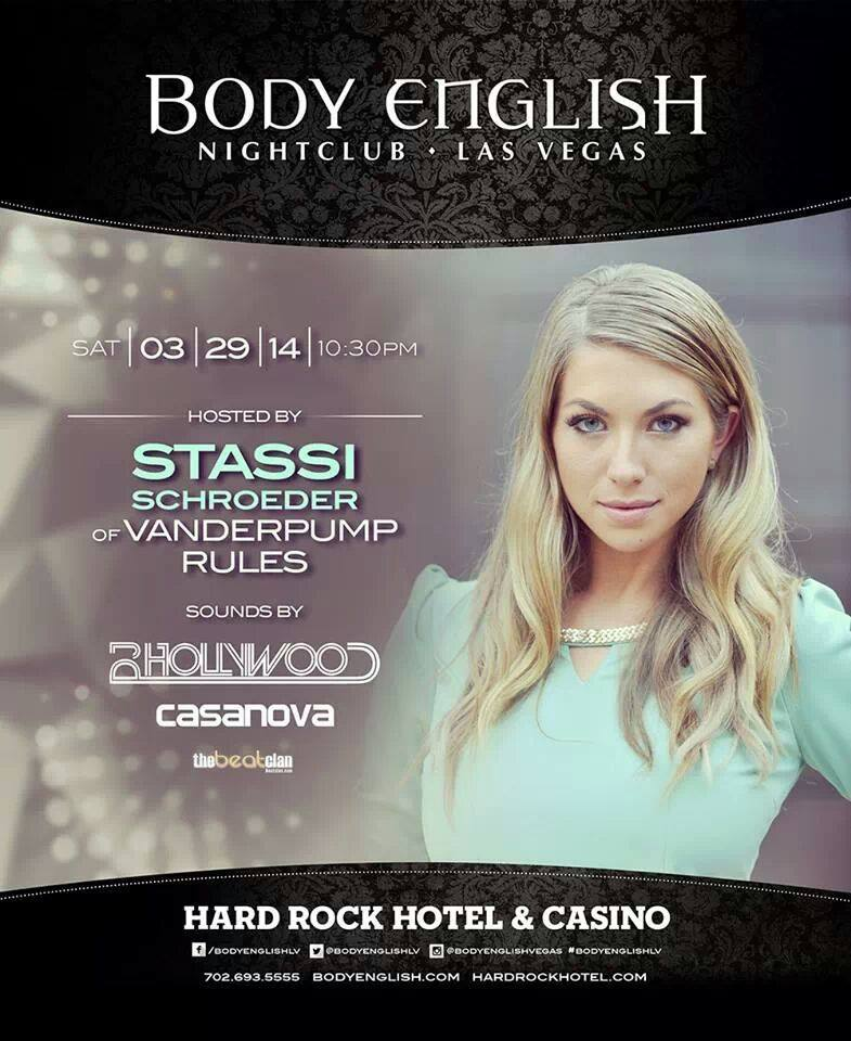 Stassi Schroeder at Body English Nightclub