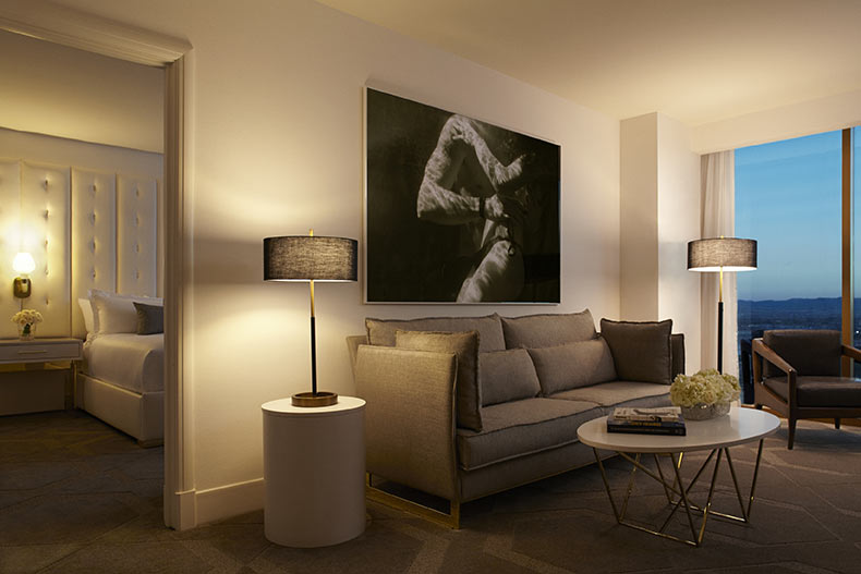 Delano Las Vegas Living Room