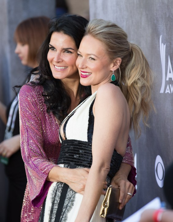Jewel and Angie Harmon - 2014 ACM Awards