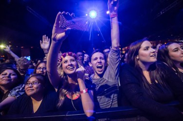The Naked and Famous at Brooklyn Bowl Las Vegas