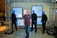 Blue Man Group ShoeZaphone Unveiling