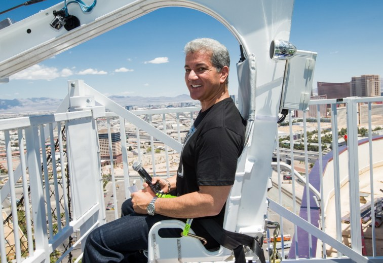 Bruce Buffer at VooDoo Zip Line