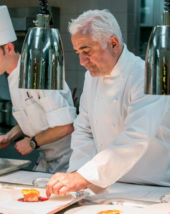 Chef Guy Savoy at Vegas Uncork'd