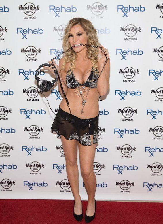 Crystal Hefner at Rehab at Hard Rock Hotel