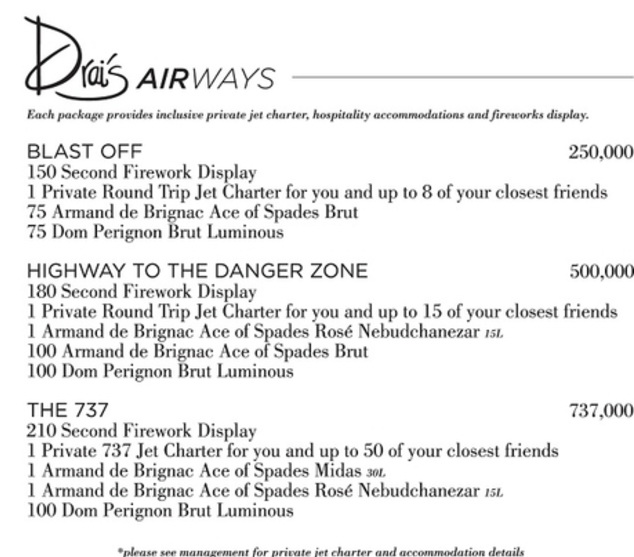 Drai's Beach Club - Nightclub Drai's Airways