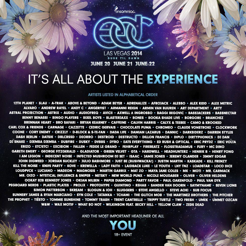 EDC - Electric Daisy Carnival Vegas 2014