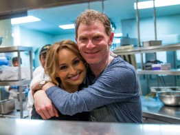 Giada De Laurentiis and Chef Bobby Flay at Vegas Uncork'd