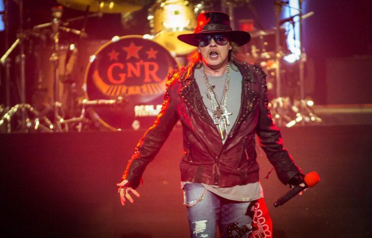 Guns N Roses at The Joint Inside Hard Rock