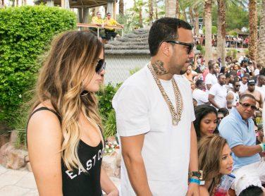 Khloe Kardashian and French Montana at REHAB