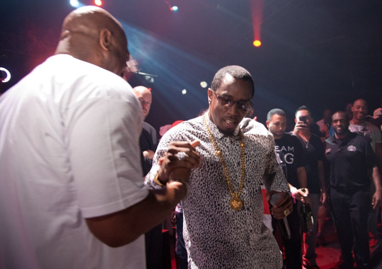 Puff Daddy After Fight Party at The Joint