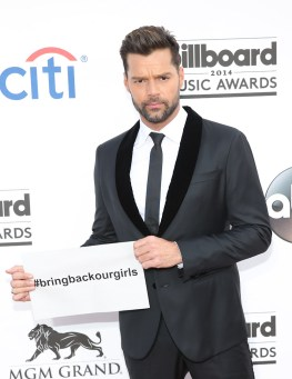 Ricky Martin at 2014 Billboard Music Awards