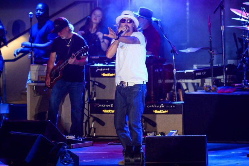 Kid Rock Performs at Boulevard  Pool at The Cosmopolitan of Las Vegas