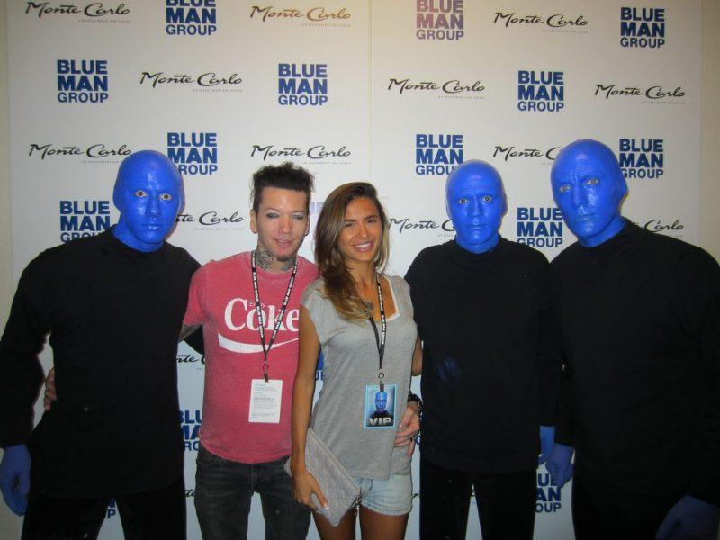 DJ Ashba of Guns N' Roses at Blue Man Group