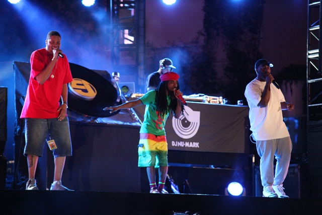 Jurassic 5 performs at Boulevard  Pool at The Cosmopolitan of Las Vegas