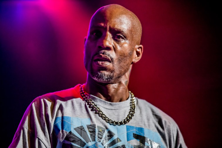 DMX at Legends of Hip Hop Show