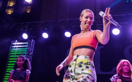 Iggy Azalea at SLS Las Vegas Grand Opening