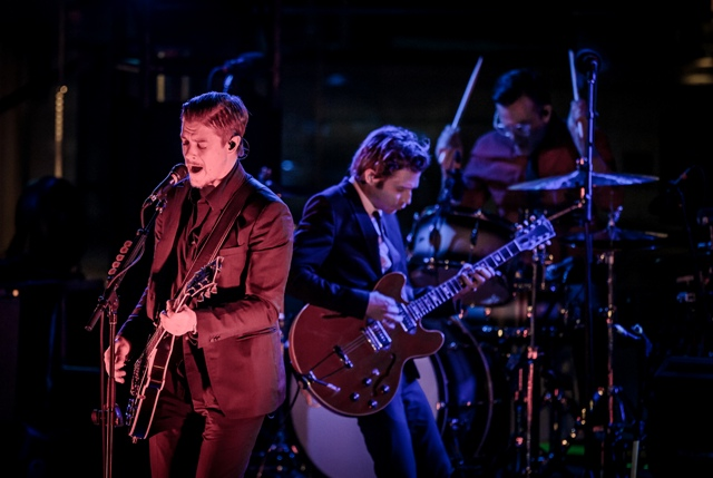 Interpol Performs LIVE at the Boulevard Pool
