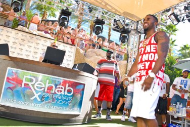 Jason Derulo at REHAB