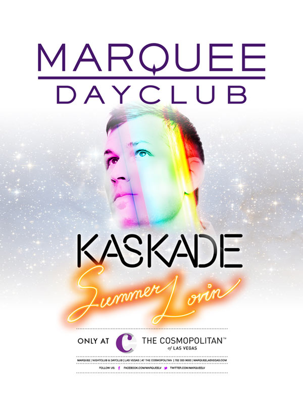 Kaskade at Marquee Dayclub