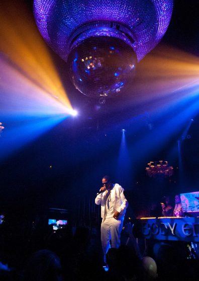 Mase Performing at Body English Nightclub