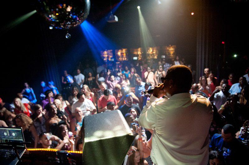 Mase Photos Performing At Body English Nightclub