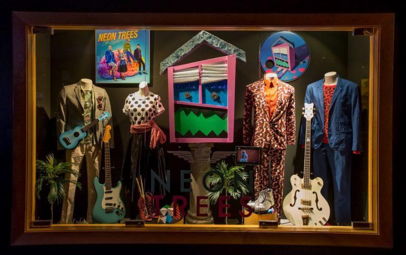 Neon Trees Case Dedication at Hard Rock