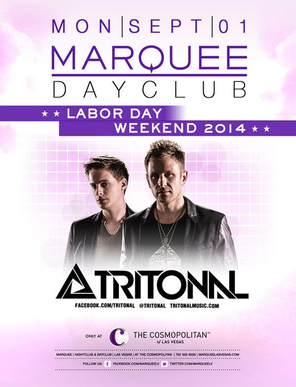 Tritonal at Marquee Dayclub