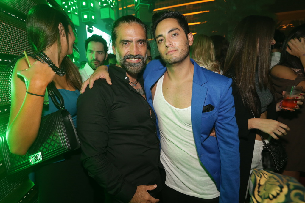 Alejandro Fernández and Jared Garcia at XS