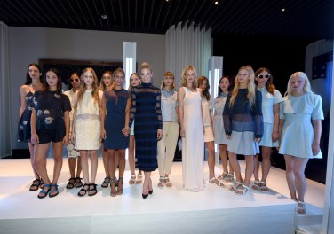 Charlotte Ronson presents looks from her SpringSummer 2015 collection