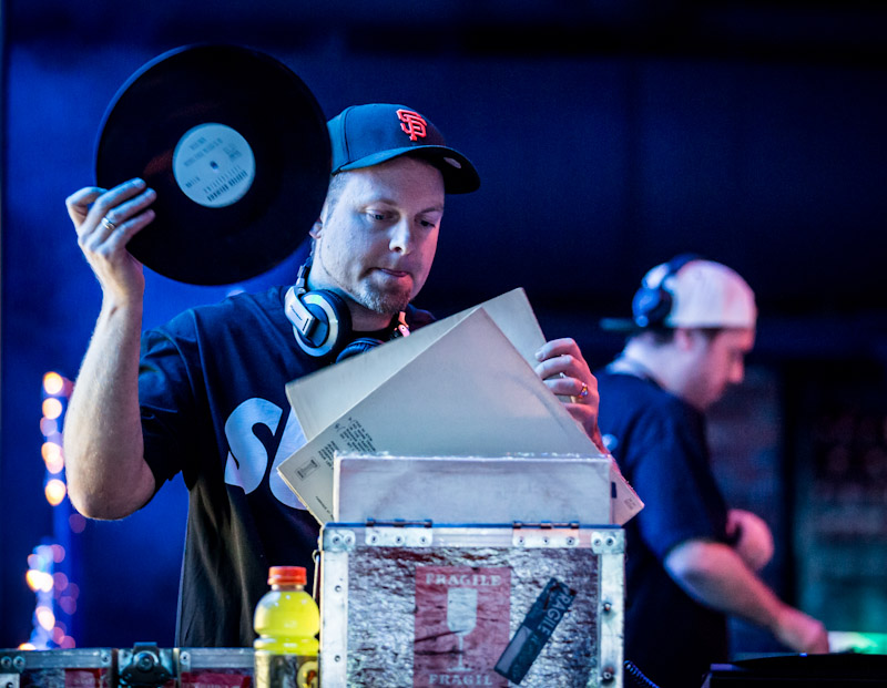 DJ Shadow & Cut Chemist at Brooklyn Bowl Las Vegas