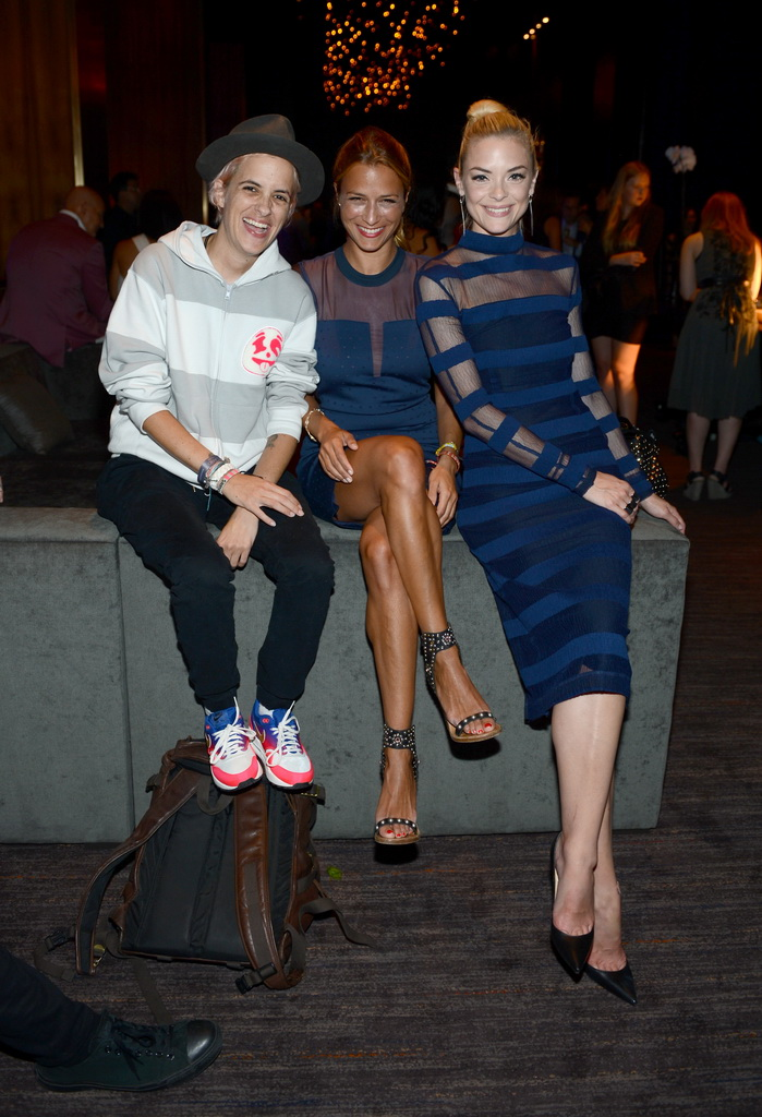 Jaime King, Samantha and Charlotte Ronson enjoy Franklin Lounge