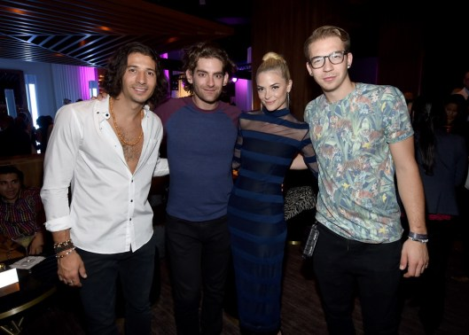 Magic! celebrate Delano Las Vegas' grand opening with event host Jaime King,