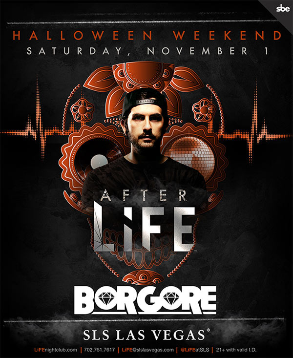 Borgore at LiFE Nightclub