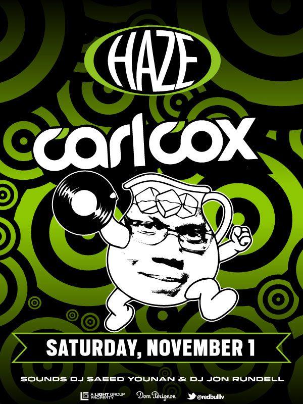 Carl Cox at Haze Nightclub