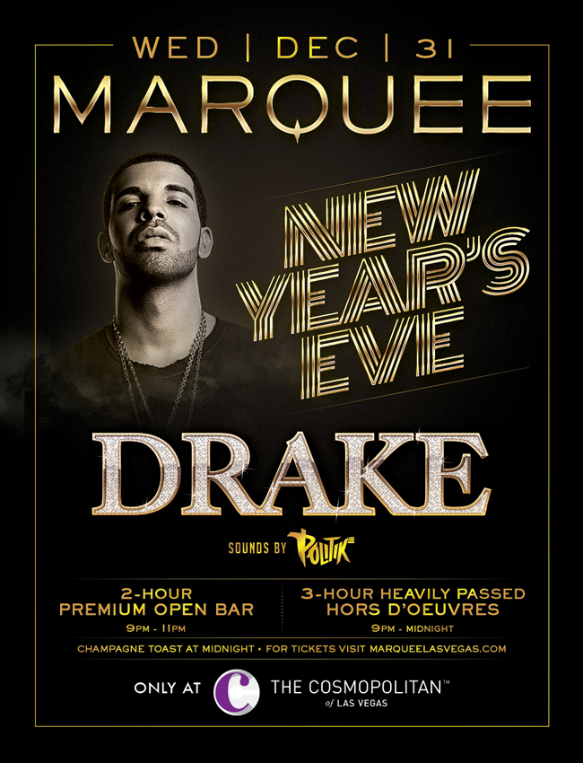 Drake at Marquee Las Vegas