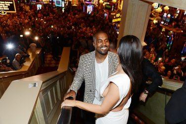 Kim Kardashian West Celebrates Her Birthday At TAO Nightclub At The Venetian Hotel And Casino