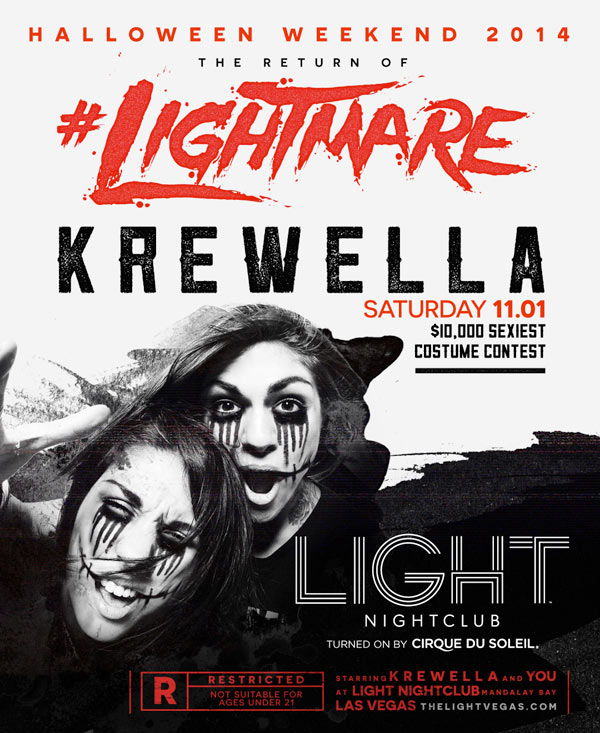 Krewella at LIGHT Nightclub