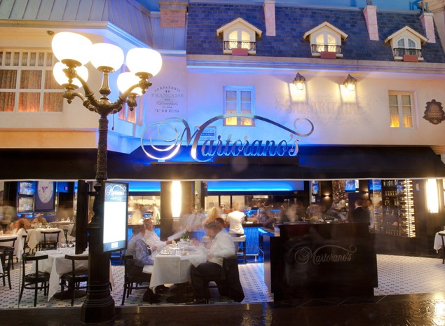 Martoranos at Paris Las Vegas Now Open. Photo Credit Erik Kabik