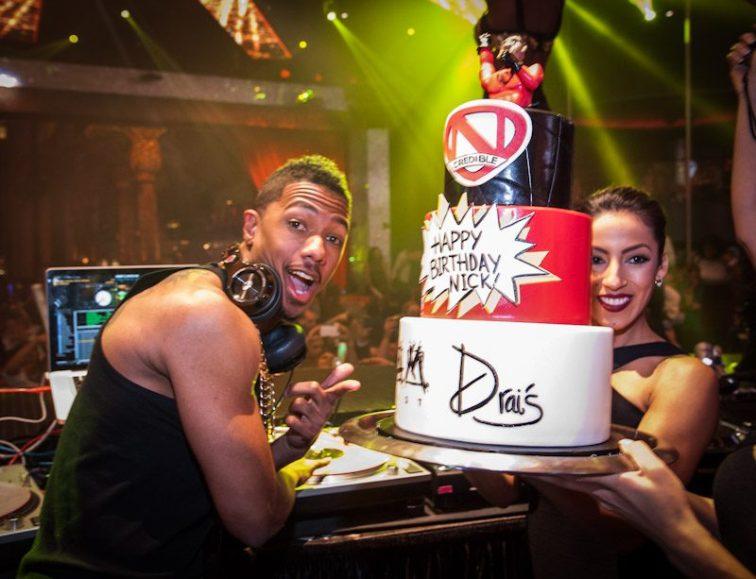 Nick Cannon at Drai's Nightclub