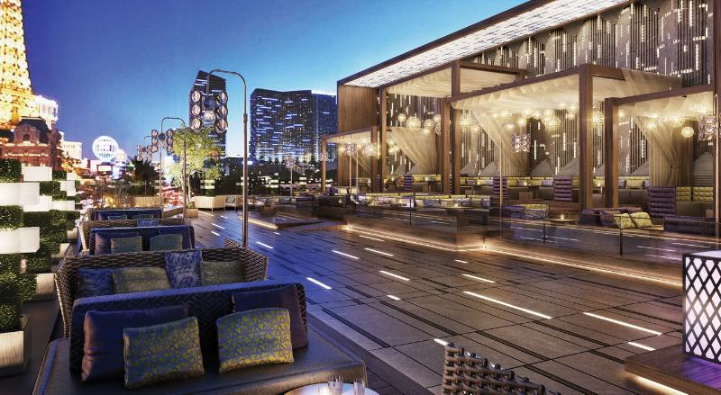 Hakkasan Group Rooftop Garden At Omnia Nightclub Las Vegas