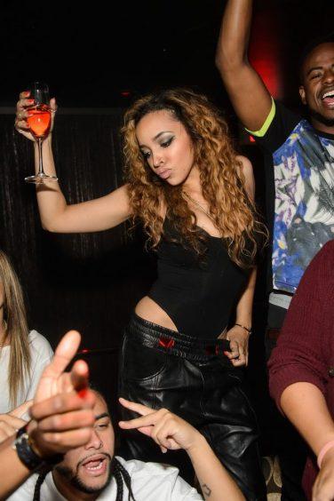 Tinashe Dancing at TAO Nightclub