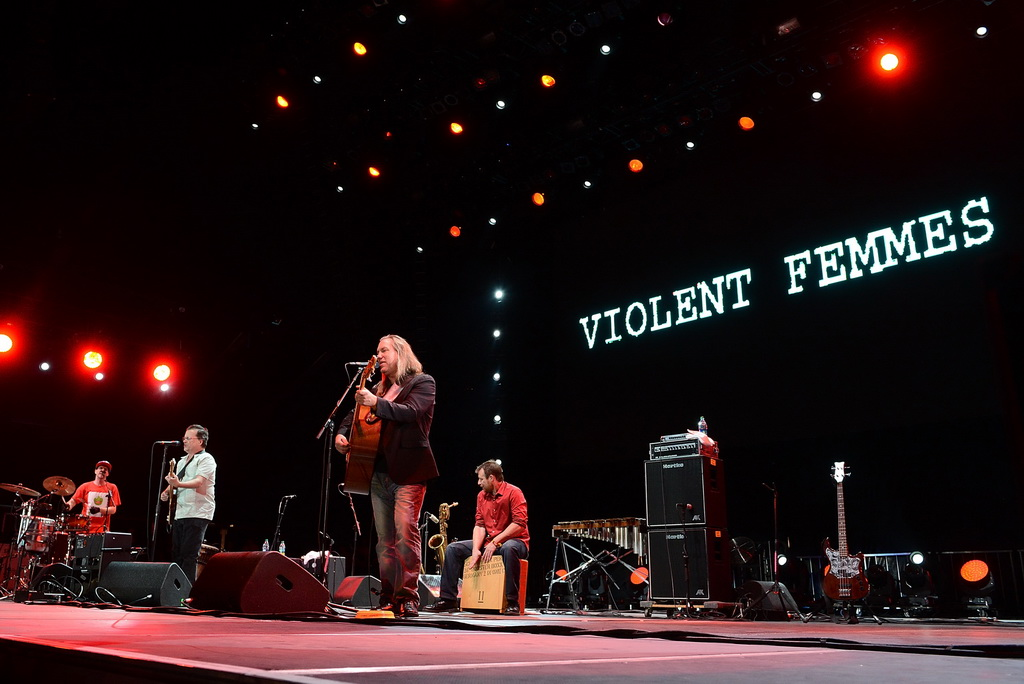 Violent Femmes performing at Wine Amplified - Photo by Denise Truscello/Wire Image