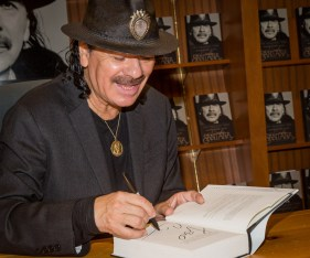 Carlos Santana Book Signing at Barnes & Noble