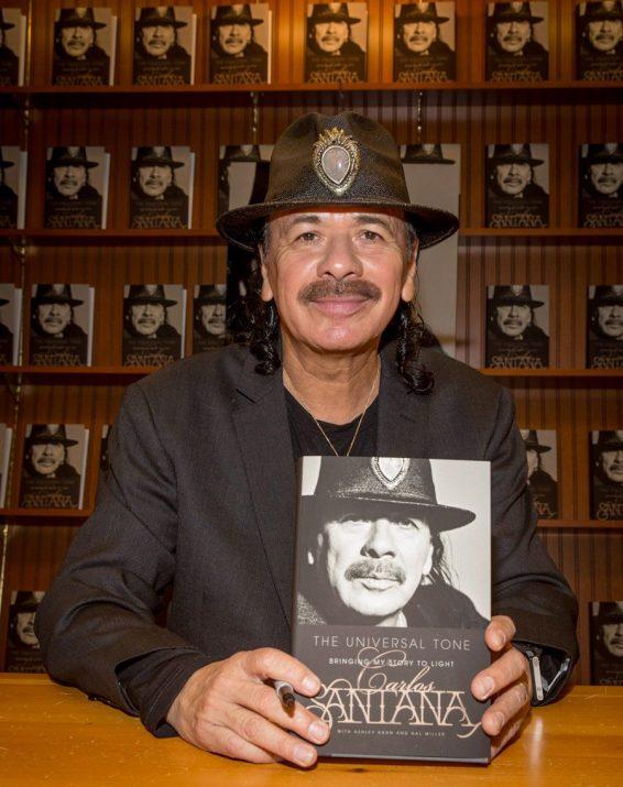 Carlos Santana Book Signing at Barnes & Noble