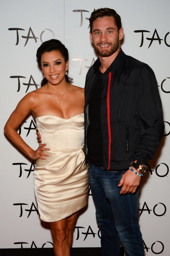 Eva Longoria and Chris Algieri at TAO